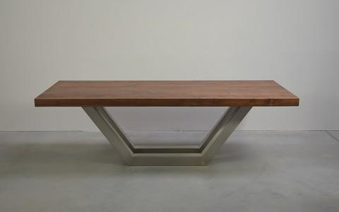 rvs tafelpoten robuuste tafels robuuste tafelpoten op maat gemaakt vakwerk montagelas. Black Bedroom Furniture Sets. Home Design Ideas