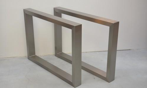 Rvs tafelpoten, robuuste tafels, robuuste tafelpoten op maat gemaakt