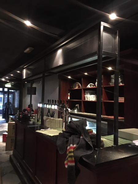 Stalen bar inrichting Breda