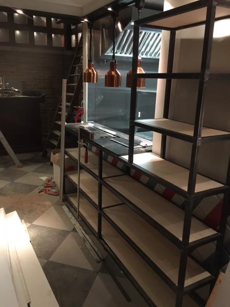 Stalen restaurant inrichting op maat laten maken Breda
